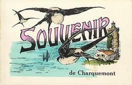- Doubs -ref-A845- Charquemont - Souvenir De .. - Hirondelles - Phare - Carte Bon Etat - - France
