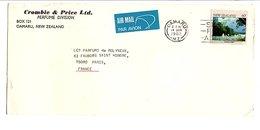 NOUVELLE ZELANDE LETTRE DE OAMARU POUR LA FRANCE 1982 - New Zealand