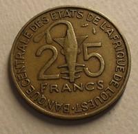 1990 - Afrique De L'Ouest - West African States - 25 FRANCS, BCEAO, F.A.O., KM 9 - Other - Africa