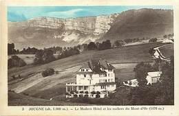 - Doubs -ref-A842- Jougne - Le Modern Hotel Et Rochers Du Mont D Or - Hotels  - Carte Bon Etat - - France