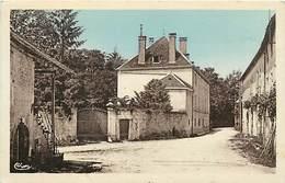 - Doubs -ref-A841- Buffard - Le Chateau  Et Rue - Chateaux  - Carte Bon Etat - - France