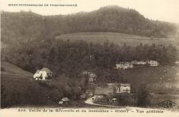 - Doubs -ref-A840- Gigot - Vue Generale - Vallée De La Reverotte Et Du Dessoubre - Carte Bon Etat - - France