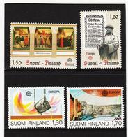 LKA551 EUROPA CEPT 1982/83 FINNLAND Michl 899/00+926/27 ** Postfrisch - Europa-CEPT
