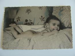 BAMBINO BAMBINI ENFANT      FOTO CARTOLINA  ARTURO STEA  BARI      9 X 13,5      Lotto Ba11 - Ritratti