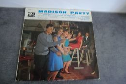 Disque 25 Cm Madison Party - Harold Nicolas Accompagné Par Jimmy Walter - Olivier Despax Et Ses Gamblers Et The Madison' - Spezialformate