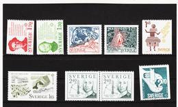 LKA549 EUROPA CEPT 1980/83 SCHWEDEN Michl 1106/07+1141/42+1187/88+1237/38 ** Postfrisch - Europa-CEPT