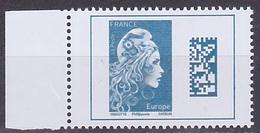 Timbre Neuf ** N° 5257(Yvert) France 2018 - Marianne L'Engagée Europe Datamatrix - 2018-... Marianne L'Engagée