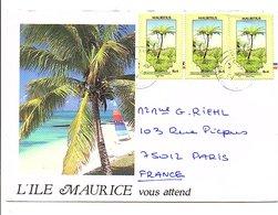 MAURICE LETTRE POUR LA FRANCE - Maurice (1968-...)