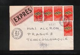 France 1972 Europa Cept Interesting Letter - Europa-CEPT