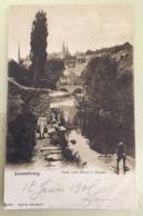 Cpa Luxembourg  1905  Grund Et Clausen - Luxemburg - Stad