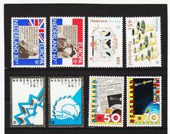 LKA547 EUROPA CEPT 1980/83 NIEDERLANDE Michl 1168/69+1186/87+1219/20+1232/33 ** Postfrisch - Europa-CEPT