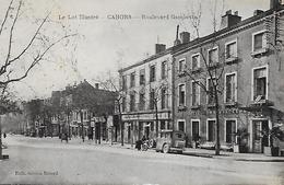 46)  CAHORS  - Boulevard  Gambetta - Cahors