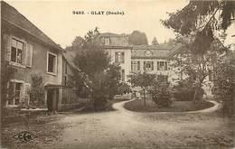 - Doubs -ref-A834- Glay - Petit Plan Enfants - Carte Bon Etat - - France