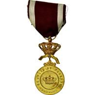 Belgique, Ordre De La Couronne, Travail Et Progrès, Médaille, Non Circulé - Army & War