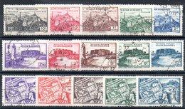 FEZZAN - YT N° 28 à 42 - Cote: 20,00 € - Fezzan (1943-1951)