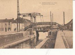 CHARLEROI MARCHIENNE AU PONT  CANAL  PASSERELLE - Charleroi