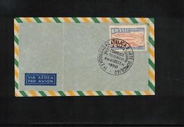 Brazil 1950 World Cup Brazil Interesting Letter - 1950 – Brazilië