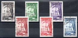 FEZZAN - YT Taxe N° 6 à 11 - Cote: 20,00 € - Fezzan (1943-1951)