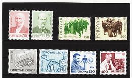 LKA554 EUROPA CEPT 1981/83 FOROYAR Michl 53/54+63/64+70/71+84/85 ** Postfrisch - Europa-CEPT