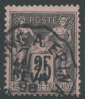 Lot N°48117  N°97, Oblit Cachet à Date Des Ambulants BUSSANG A EPINAL - 1876-1898 Sage (Type II)