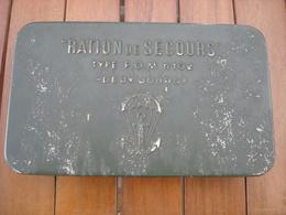 Boite Ration De Secours FOM 102 - Indo - Indochine . - Equipement