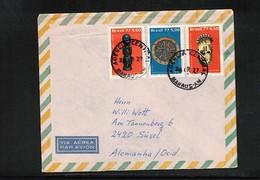 Brazil 1977 Interesting Airmail Letter - Bäume