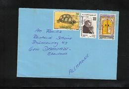 Tunisia 1990 Interesting Airmail Letter - Tunesien (1956-...)