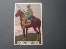 Morgenrot , Rotes Kreuz Frankfurt  Künstler AK , 1913 - Rotes Kreuz