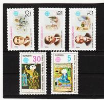 LKA561 EUROPA CEPT 1980 TÜRKEI+TÜRKISCH-ZYPERN Michl 2510/12 + 83/84 ** Postfrisch - Europa-CEPT