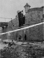 51 PUISIEULX / FORT DE LA POMPELLE / CARTE PHOTO / 1915 / MILITAIRES / SOLDATS / POILUS - France