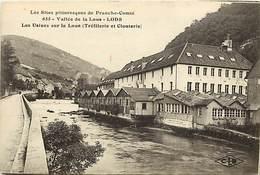 - Doubs -ref-A846- Lods - Usines Sur La Loue - Trefilerie Et Clouterie - Trefileries - Clouteries - Usine - Industrie - - France