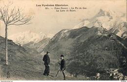 D64  LES EAUX BONNES  Le Pic De Ger- La Latte De Bazen  ...... - Eaux Bonnes