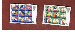 GRAN BRETAGNA (UNITED KINGDOM) -  SG 1083.1084  -  1979 EUROPEAN ELECTIONS (COMPLET SET OF 2) - USED - 1952-.... (Elisabetta II)