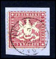 Briefst. Altdeutschland Württemberg - Timbres