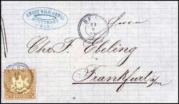 Beleg Altdeutschland Württemberg - Timbres