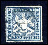 Gest. Altdeutschland Württemberg - Timbres