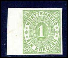 O. Gummi Altdeutschland Württemberg - Timbres