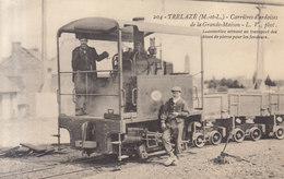 'ç Trelaze : La Grande Maison Ardoisieres  La Locomotive    ///  REF   AVRIL. 19 - France