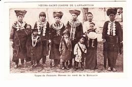BIRMANIE (Asie) Mission Des SOEURS SAINT JOSEPH DE L'APPARITION, Types De Femmes Shanes, Enfants, Hélio Aulard 1910 Env. - Myanmar (Burma)