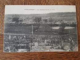 Vadelaincourt - Vue Générale De L'H. O. E. 6, Cimetière Militaire? Train, Wagons - Edition Davignon - Altri Comuni