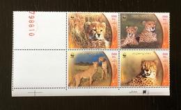 Iran 2003; WWF Fauna Animals Wild Cats, Cheetah; MNH VF** - Iran