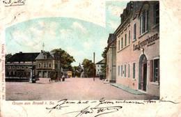 CPA - BRAND I.Sachsen - Vue De La Ville - Gruss Aus ... - Brand-Erbisdorf