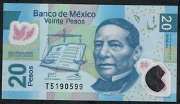 MEXICO P122n 20 PESOS 12.7.2016 #AC    VF Folds NO P.h. ! - Mexico