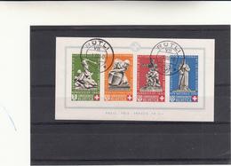 Suisse Foglietto Pro Patria Monumenti 1940 - Pro Patria