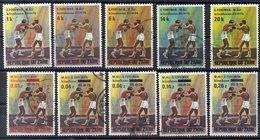ZAIRE     Timbres De 1974  ( Ref 6369 ) Sport - Boxe - M. Ali - Zaïre