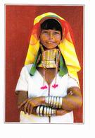 BURMA (Asie) Femme Girafe, Jeune Fille, Ed. Edito Service 1990 Environ - Myanmar (Burma)