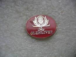 Pin's Du Whisky The Glenlivet, Distillerie Glenlivet - Boissons