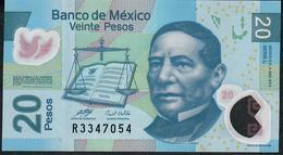 MEXICO P122h 20 PESOS 3.5.2010  #L    VF Folds NO P.h. ! - México