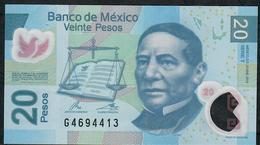MEXICO P122k 20 PESOS 23.1.2012  #T    VF Folds NO P.h. ! - México