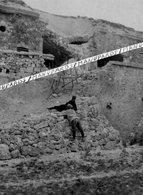 51 PUISIEULX / FORT DE LA POMPELLE / CARTE PHOTO / 1915 / FERME D'ALGER ??? MILITAIRES / SOLDATS / POILUS - France